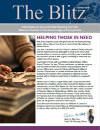 The Blitz - October, 2018