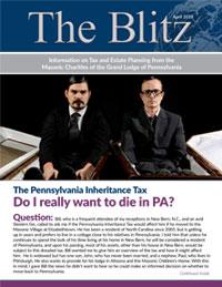 The Blitz Newsletter - April, 2019