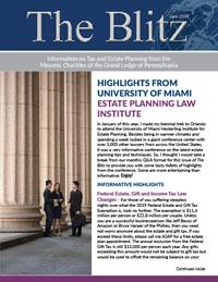 The Blitz Newsletter - June, 2019