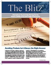 The Blitz Newsletter - January, 2020