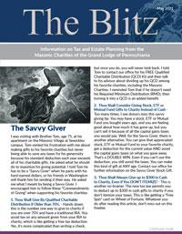 The Blitz Newsletter - January, 2021