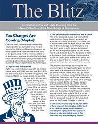 The Blitz Newsletter - July, 2021